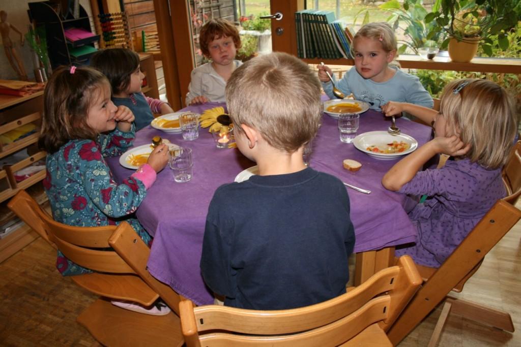 Kinder der Kita Vauban